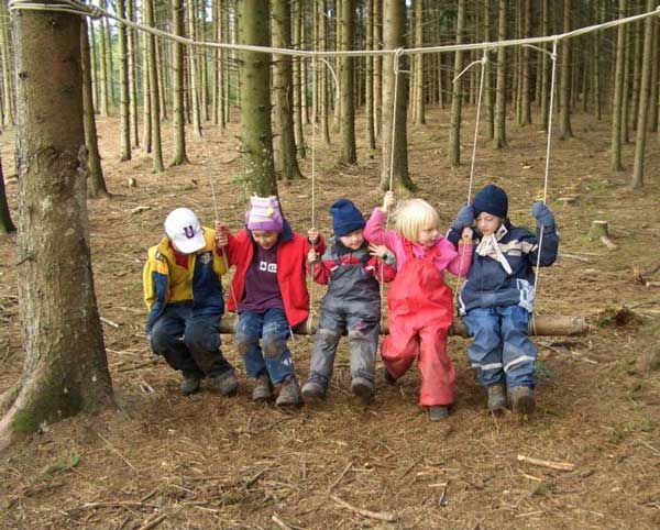 Waldkindergärten - forest kindergarten - none of these is available to us now, but I'll research from here when it's time