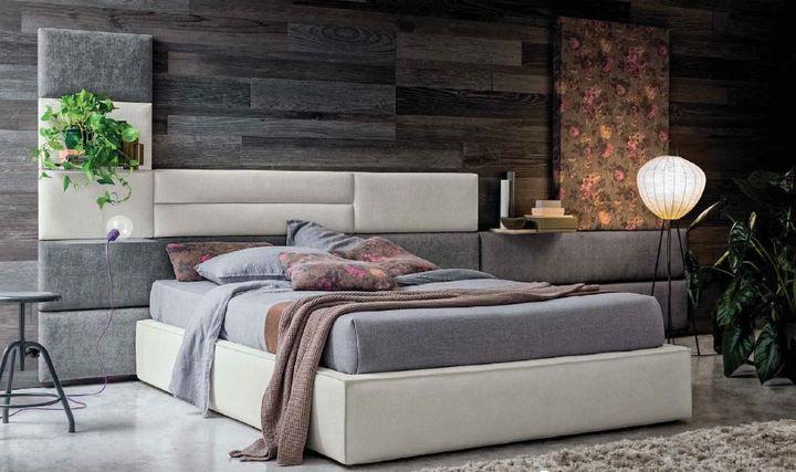Modern ágy sommy - www.montegrappamoblili.hu
