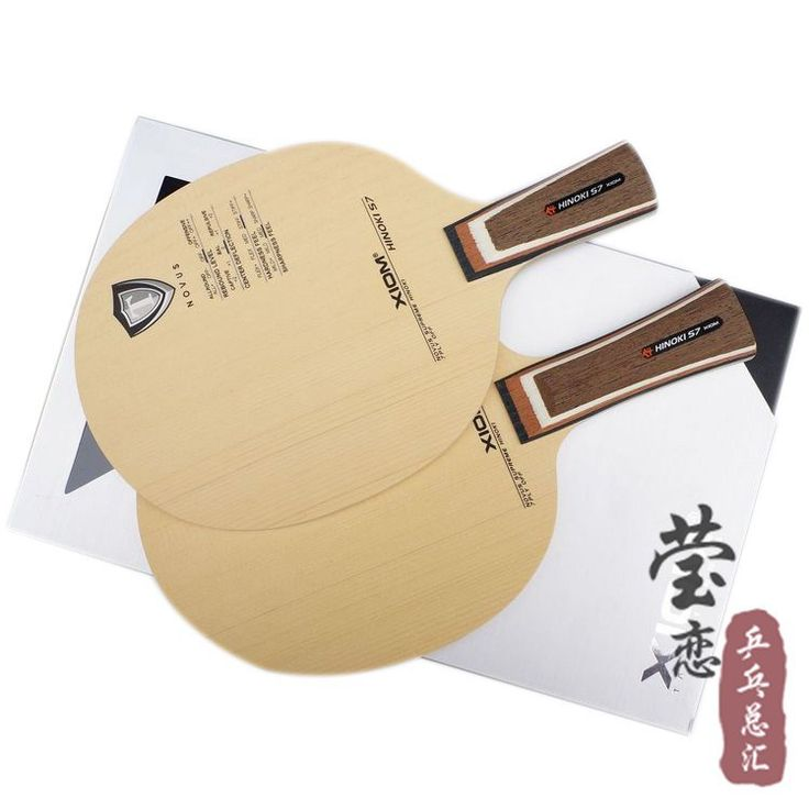 Original XIOM HINOKI S7 table tennis blade racquet sports table tennis rackets indoor sports cypress pure wood