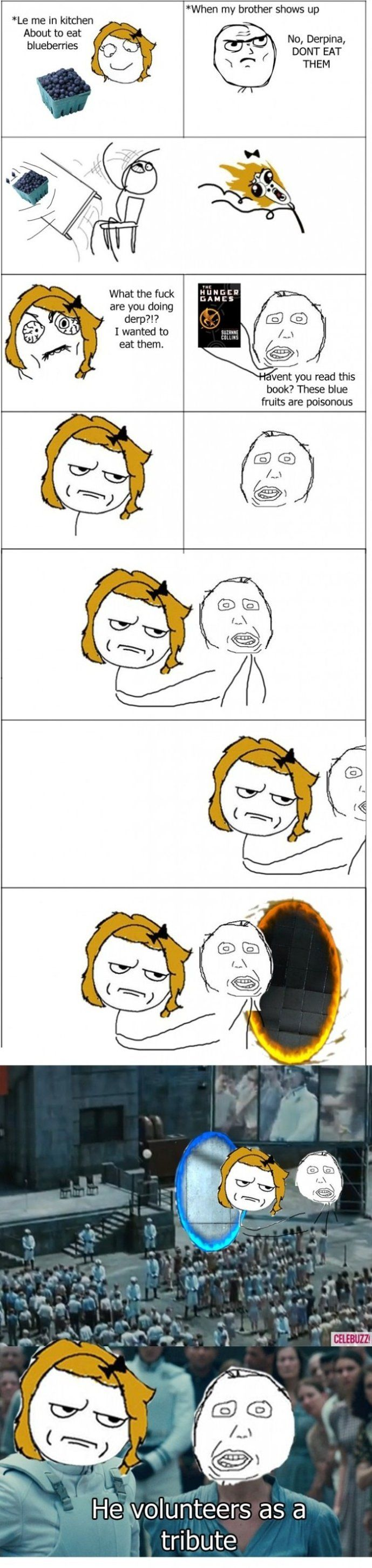 The Hunger Games Comic haha ( sorry for the cuss word)