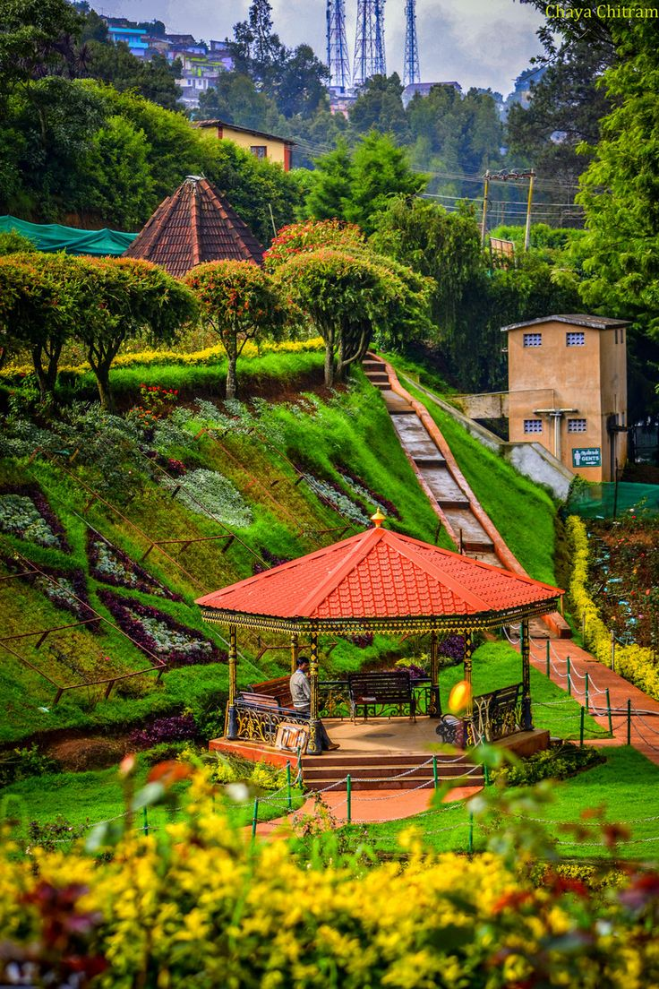 Rose Garden, Ooty. One of the destinations on our tours to southern India http://www.greatrail.com/great-train-tours-holiday-destinations/india--the-orient/ooty.aspx