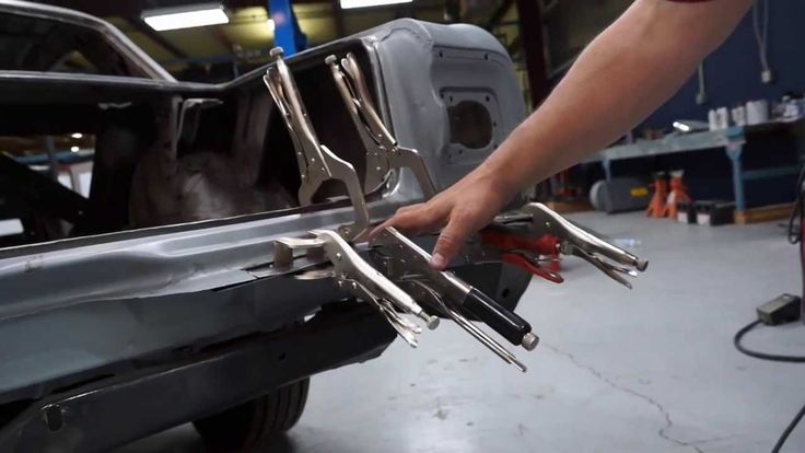 American Modern's Sr. Claims Specialist, Rick Drewry, is working on replacing the bad metal on the rear of this 1965 Chevy Malibu SS. Like The Build? Be sure to subscribe to our YouTube channel and follow on Facebook: https://www.facebook.com/AmericanModernCollectorCar @American Modern Insurance Group