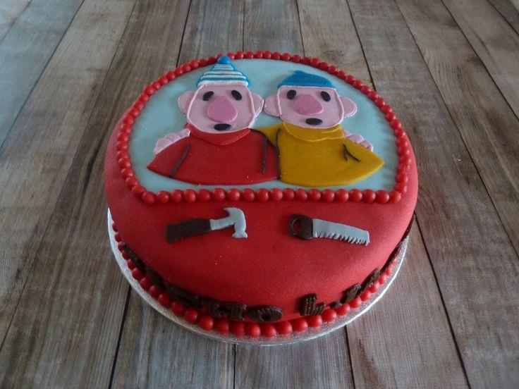 Buurman en Buurman taart voor Tycho
