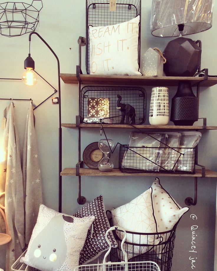 #blackandwhite #lighting #cushions #wire #bear #hooks #greys #junior #gifts #homedecor #quinceyjac