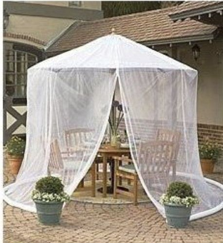 Umbrella Gazebo Transform An Outdoor Table Into A