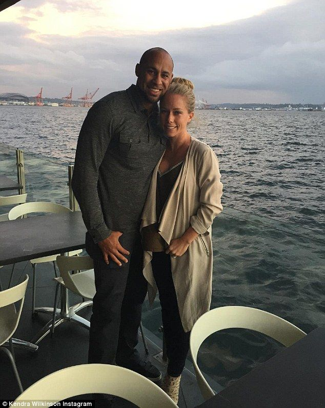 Ups and downs: Kendra Wilkinson and Hank Baskett marked their seven year anniversary with ...
