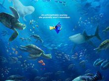 Walt Disney Pictures present Finding Dory movie is an American comedy, adventure, and 3D animated movie.