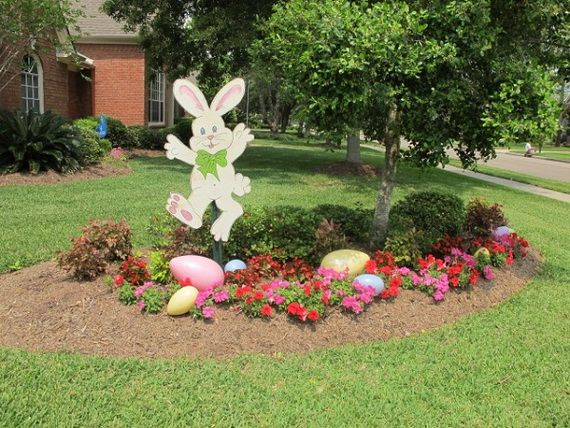 Outdoor Easter Decorations – 60 Ideas For A Special Holiday