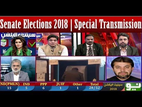 Senate Elections 2018   Special Transmission   03 March 2018   Neo News