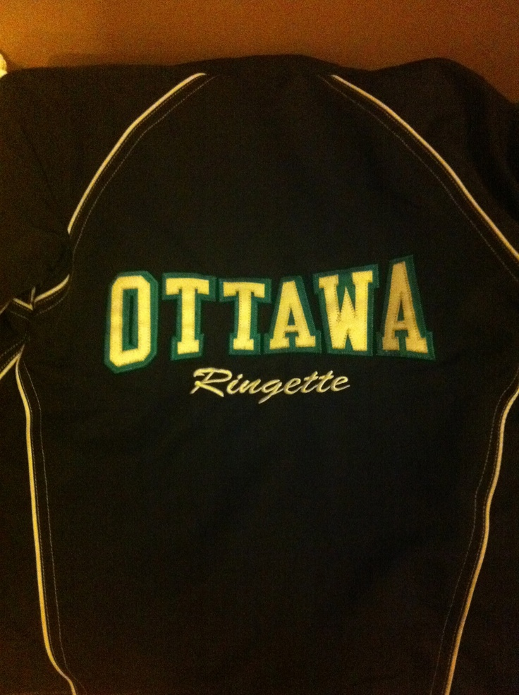 Ottawa Ringette jacket. Let us give you a quote on your team association clothiing. Jacket days give 10% back to the assocation.