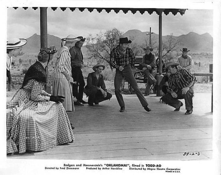 Gene Nelson dances in Oklahoma