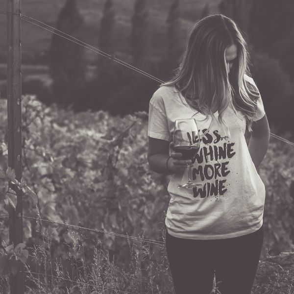 Less Whine More Wine T Shirt