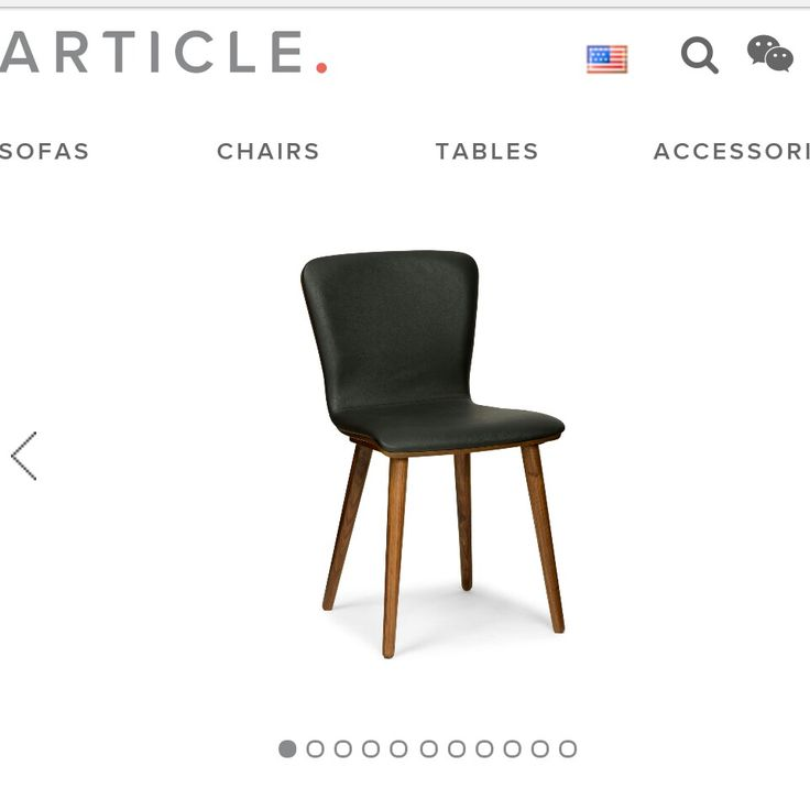 Sede chair by Article furniture #inspiration for DIY dining room chairs