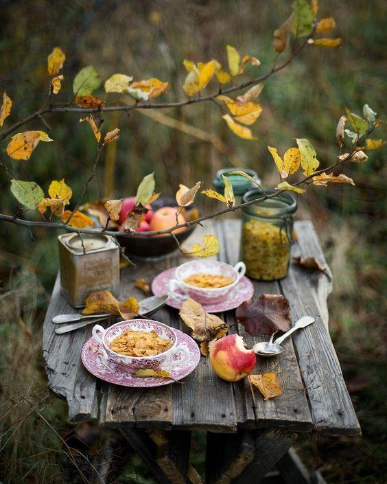 картинки с добрым утром с едой осенние красивые повышения