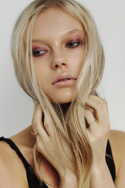 Sergey Rogov Photography; a bit consumptive-chic but I'm still drawn to the satiny wine textures in the eye makeup