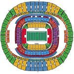 #tickets 3 CLUB LEVEL TICKETS New Orleans Saints vs Atlanta FalconsTickets 09/26/16 please retweet