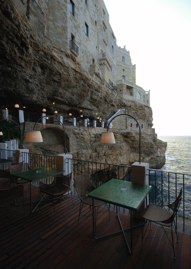 Grotta Palazzese restaurant - Polignano Italy
