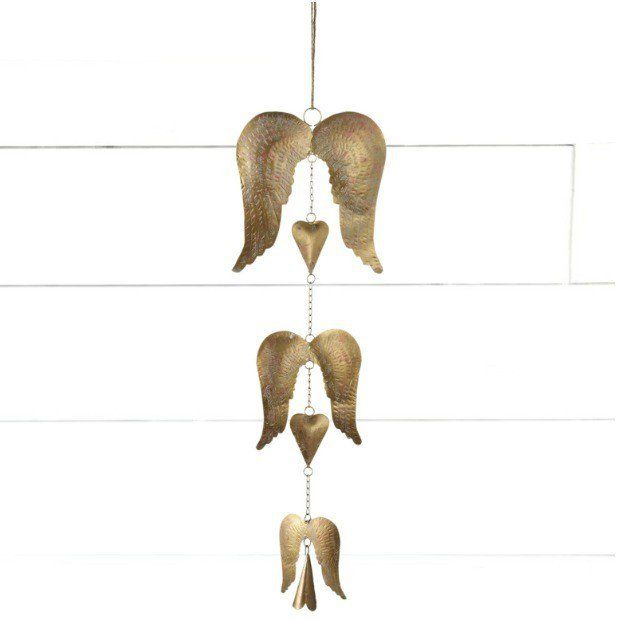 Angel Wings and Bells Wind Chime