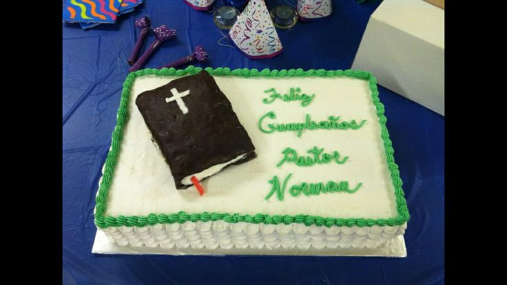 Cake Design For Pastors : 206 best images about Cake Decorating Ideas on Pinterest ...