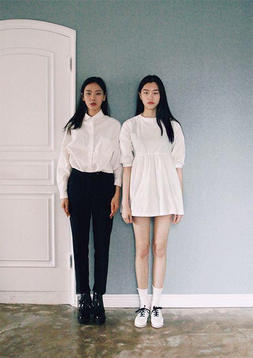 black & white #style #fashion