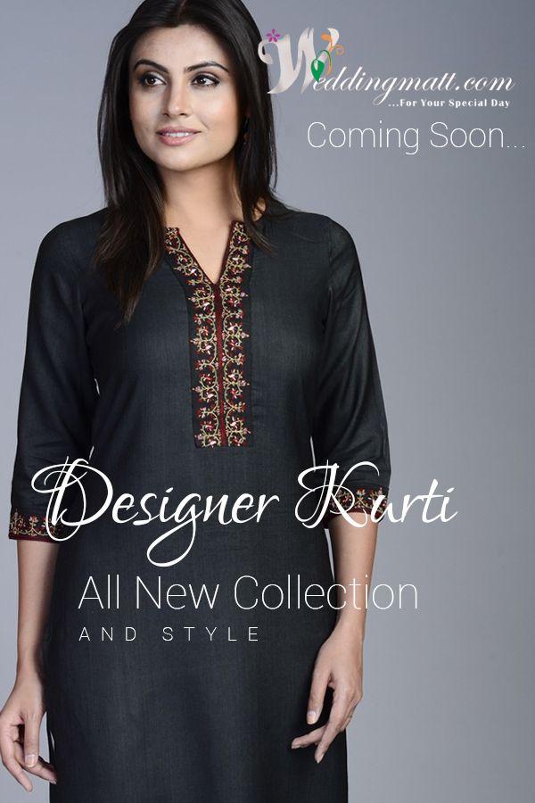 Designer Kurti  #WeddingMatt #WeddingCollection #DesignerKurti Shop @ http://weddingmatt.com/ Coming Soon