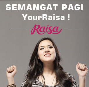 Spirit of Morning! [YourRaisa is fanbase of @raisa6690 a singer from Indonesia]