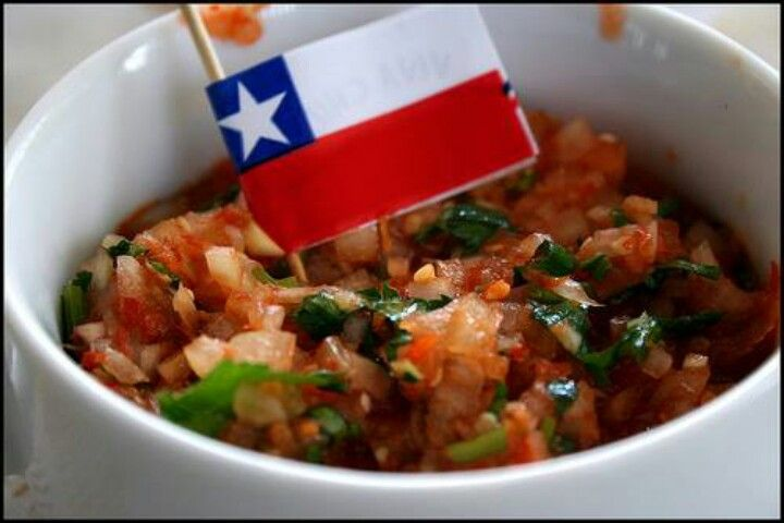 Pebre. chilean's food. This is Chile