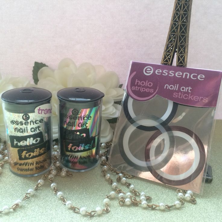 TAKEALOT MINI HAUL - ESSENCE FOILS & NAIL STICKERS - The nail foils bring cool graffiti styles straight to your nails. and here's how it works