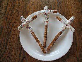 Almost Unschoolers: Sunday School Easter Snacks