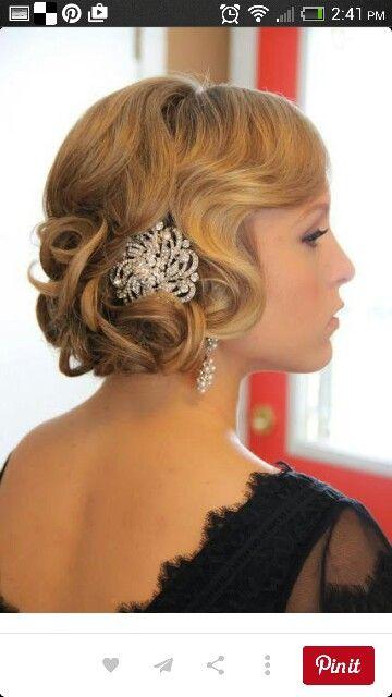 Wedding hair...So elegant