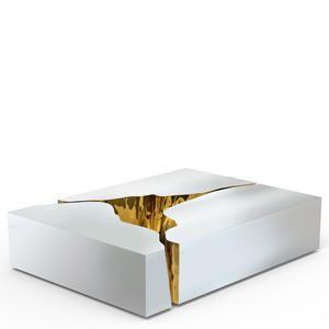 Tolle Couchtisch Glas Gold