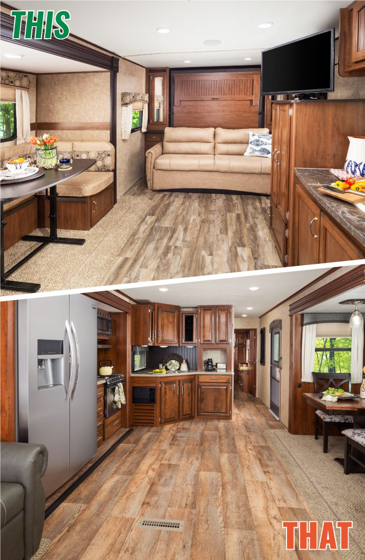 Jayco Travel Trailers | This = Feather and That = Eagle | Check out our selection of Jayco campers at Campers Inn RV  #Camping #RV #Outdoors