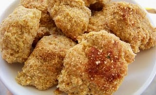There were a few variations on these homemade chicken nugget recipes, but which ever I choose I LOVE the idea of using them for a freezer meal.