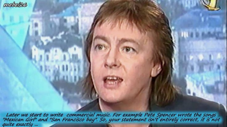 Chris Norman in the 1997 - 1/2 The Interview on Russian TV