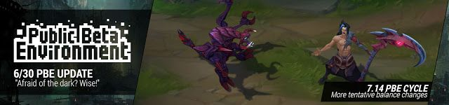 awesome 6/30 PBE Update: More Tentative Balance Changes