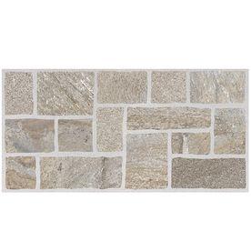 Nutrasand Tusk Glazed Porcelain Indoor/Outdoor Floor Tile (Common: 12-in x 24-in; Actual: 11.79-in x 23.7-in)