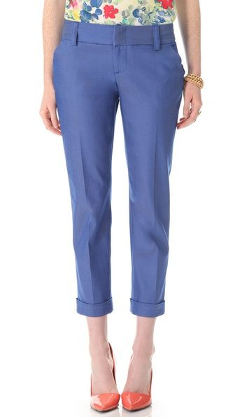 @alice + olivia  Stacey Cuffed Pants