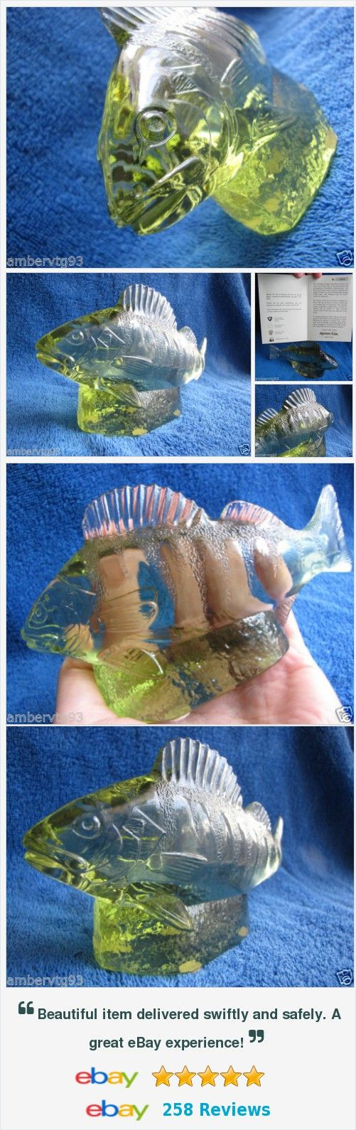 "#Sweden #Kosta Paul #Hoff #glass abborre #perch #figurine #skulpture #WWF #animals #fish #Scandinavian #antique #vintage #collectible items "" Kosta #Boda WWF animals #Figurines , #Vases , #Candle holders , #Orrefors , #Bergdala , #Reijmyre , and other scandinavian syle #pottery http://www.ebay.com/itm/-/112000276094?"