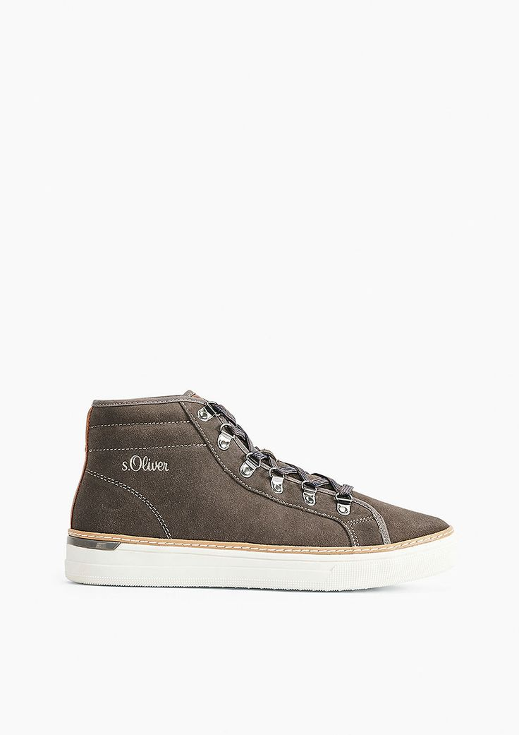 High Sneaker aus Leder von s.Oliver. Entdecken Sie jetzt topaktuelle Mode für Damen, Herren und Kinder und bestellen Sie online.