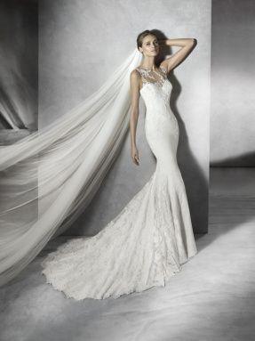 Svatební šaty Pronovias 2017 ve svatebním domě NUANCE. Model Prunelle.