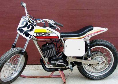 CAN-AM Flat Tracker... Champion Frame, Rotax Motor, Short Track, TT Racer... 1976 Motorcycle...