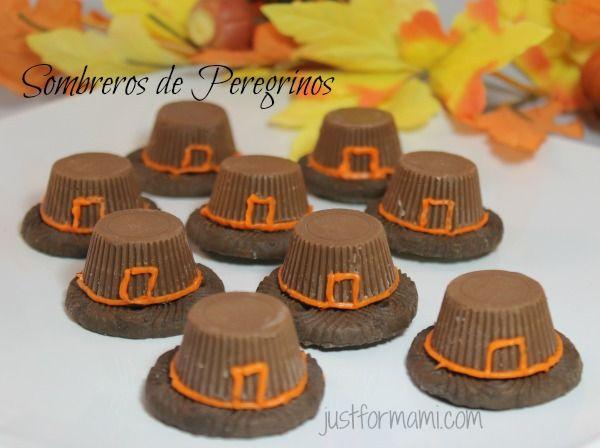 Día de Acción de Gracias: Sombreros de peregrino                                                                                                                                                                                 Más