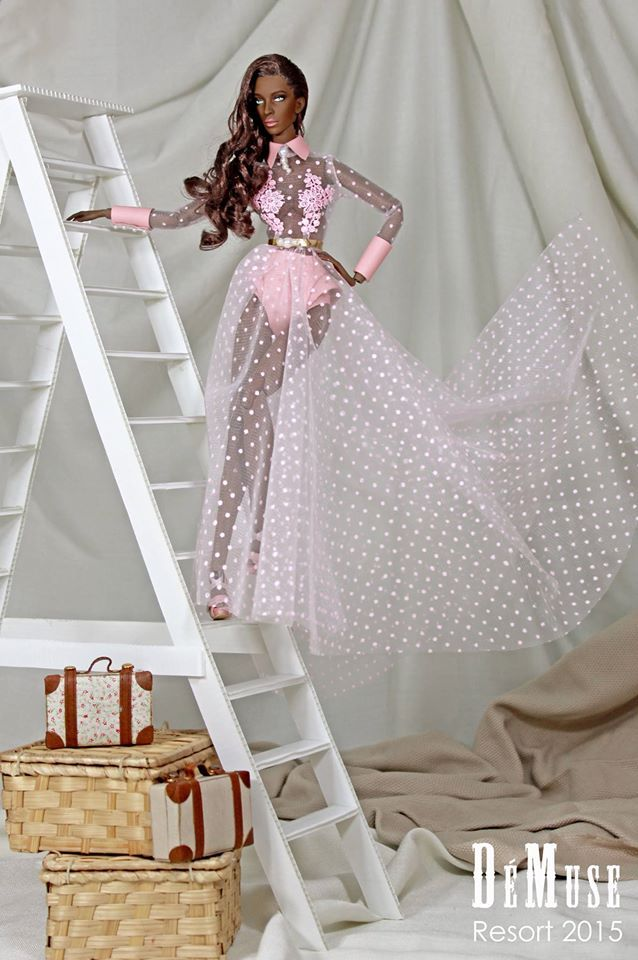Fashion doll by DeMuse Resort 2015