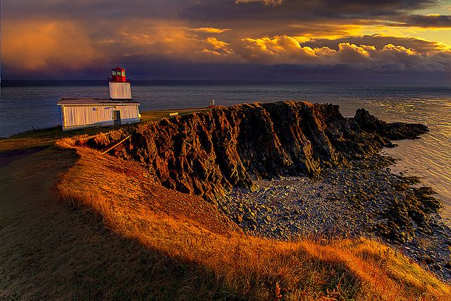 Cape D'Or Lighthouse, Nova Scotia, Canada by kevin mcneal, via Flickr
