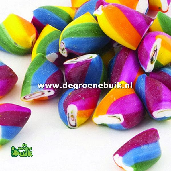Regenboog, suikervrij snoep, glutenvrij snoep | Winkel | De Groene Buik