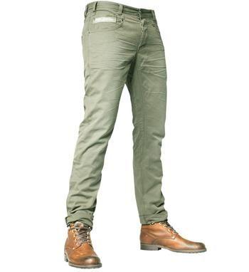 PME Legend 5-pocket lange broek model Basic Twill Commander. Deze broek is voorzien van een curved leg, low front rise, normal back rise, scoop front pockets, phone pocket& wing shaped back pockets - Army - NummerZestien.eu