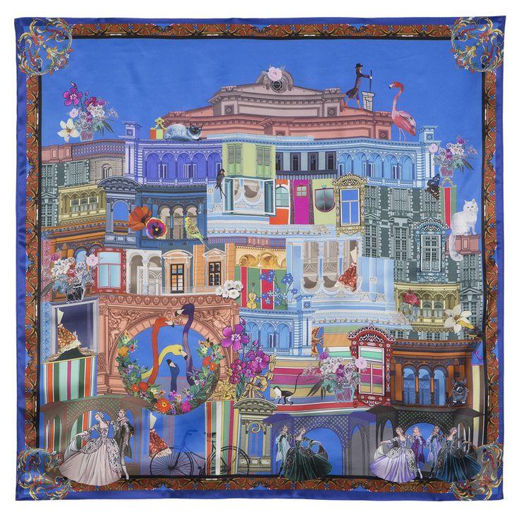 Russian shawl 10144-13