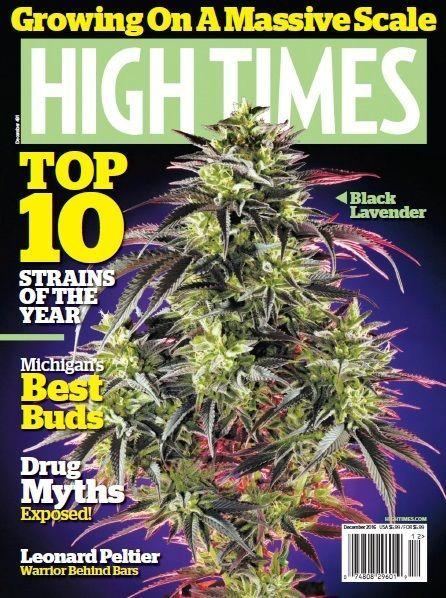 High Times PDF MaGaZiNe December 2016 medical marijuana cannabis PDF