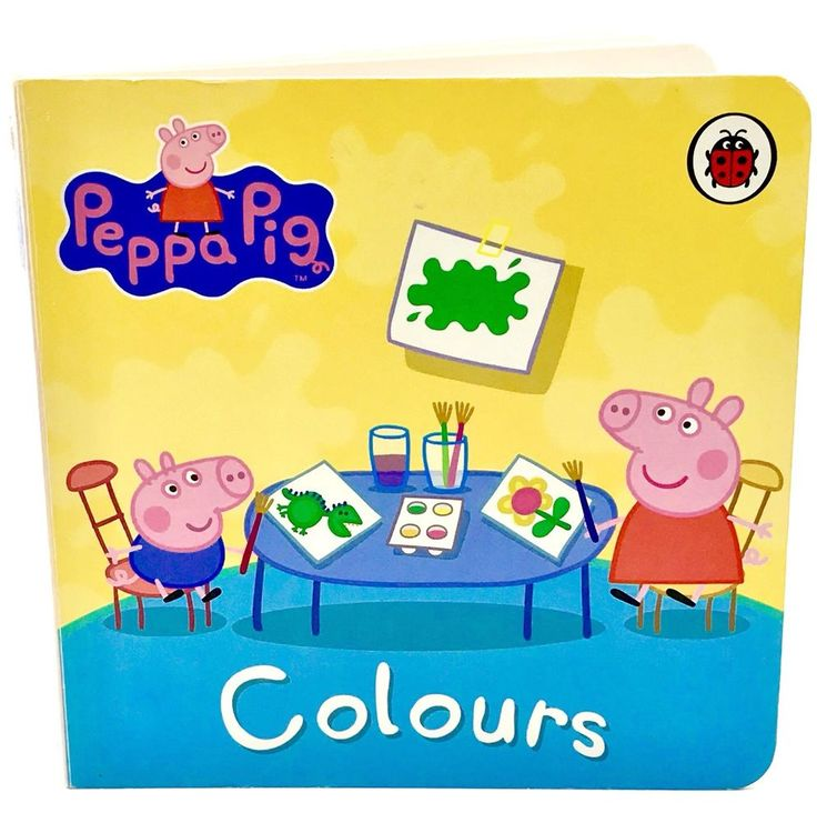 Peppa Pig Book Colours by Ladybird Books Ltd Children's Toddlers Kids Gift 🎁