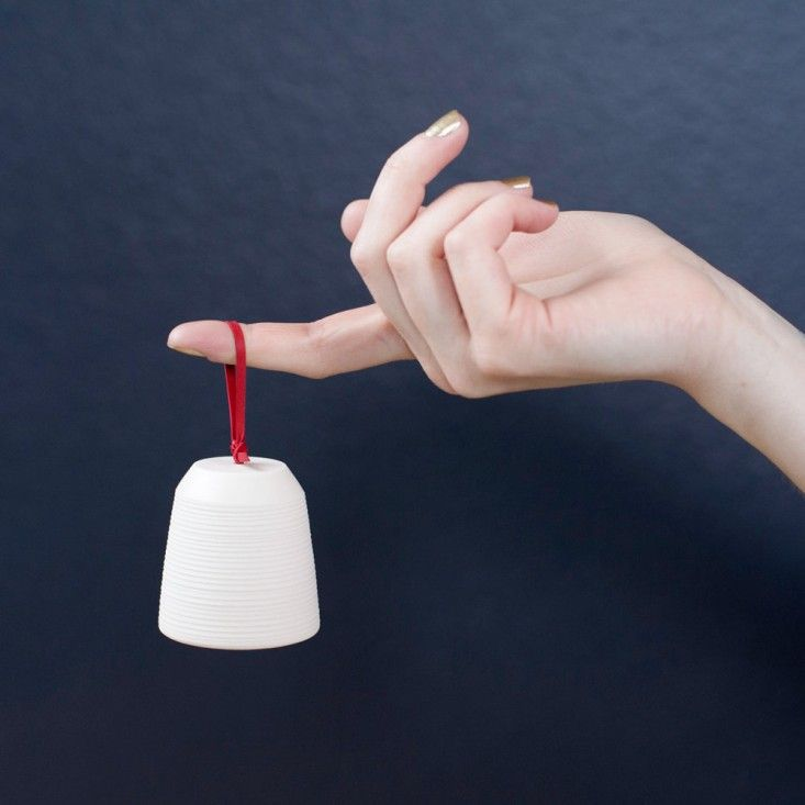 ceramic bell by Pigeon Toe Ceramics, Remodelista